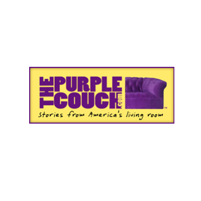 the purple couch