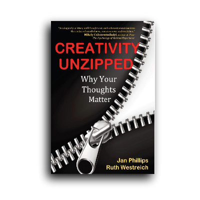 Podcast 587: Creativity Unzipped with Jan Phillips & Ruth Westreich