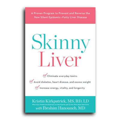 Podcast 612: Skinny Liver with Kristin Krikpatrick, MS, RD, LD