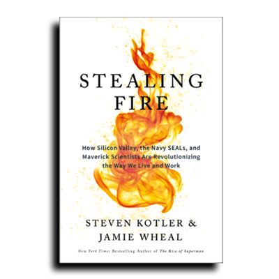Podcast 619: Stealing Fire with Steven Kotler & Jamie Wheal