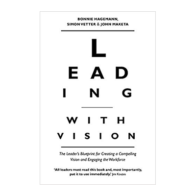 Leading with Vision Book Jacket
