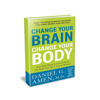 Podcast 165:  Change Your Brain, Change Your Body with Daniel G. Amen M.D.