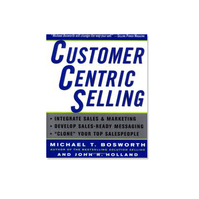 Podcast 11: Customer Centric Selling with Michael Bosworth