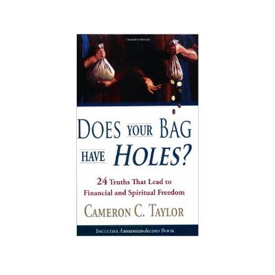 does your bag have holes