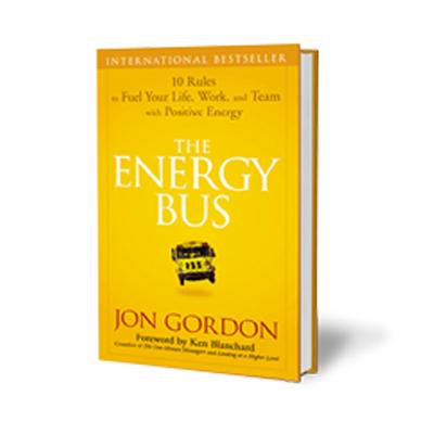 Podcast 86: The Energy Bus with Jon Gordon