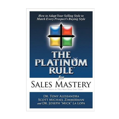Podcast 12: The Platinum Rule with Dr. Tony Alessandra