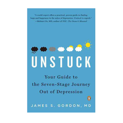 Podcast 60: Unstuck: Your Guide to the Seven-Stage Journey Out of Depression with Dr. James Gordon