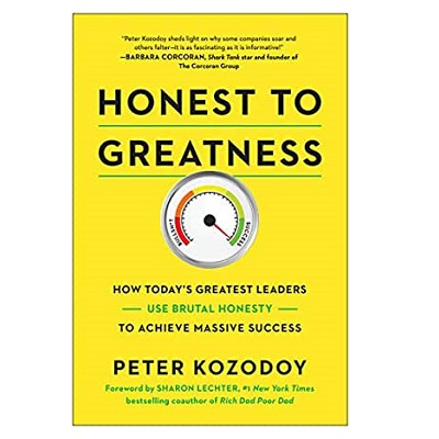 Podcast 811:  Honest to Greatness: How Today's Greatest Leaders Use Brutal Honesty to Achieve Massive Success with Peter Kozodoy