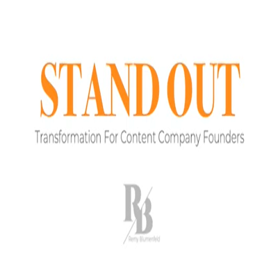 Podcast 813: Stand Out – Transformation for Content Company Founders with Remy Blumenfeld