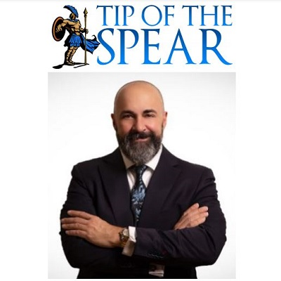 Podcast 875:  The Tip of the Spear-Leading Business Transformation with Sam Palazzolo